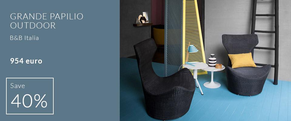Grande Papilio outdoor armchair